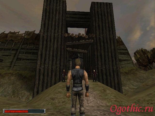 Главные ворота Старого лагеря