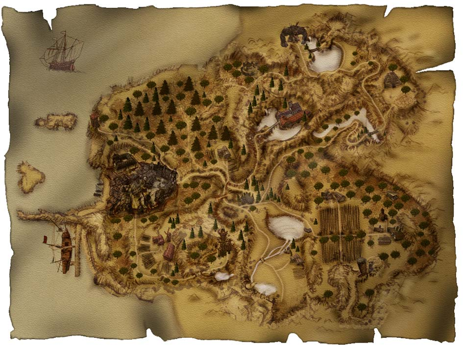 Карта Хориниса