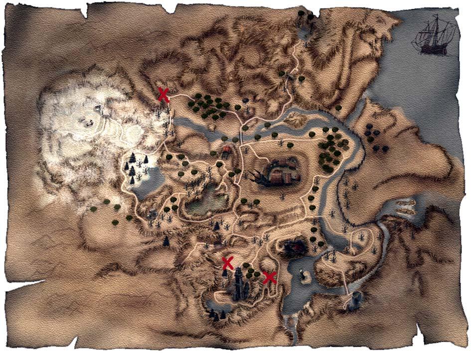 Карта Гаронда