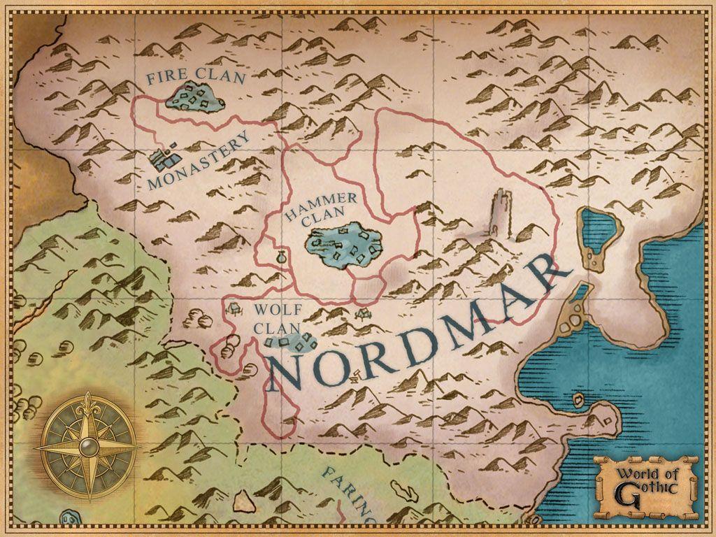 Карта Нордмара
