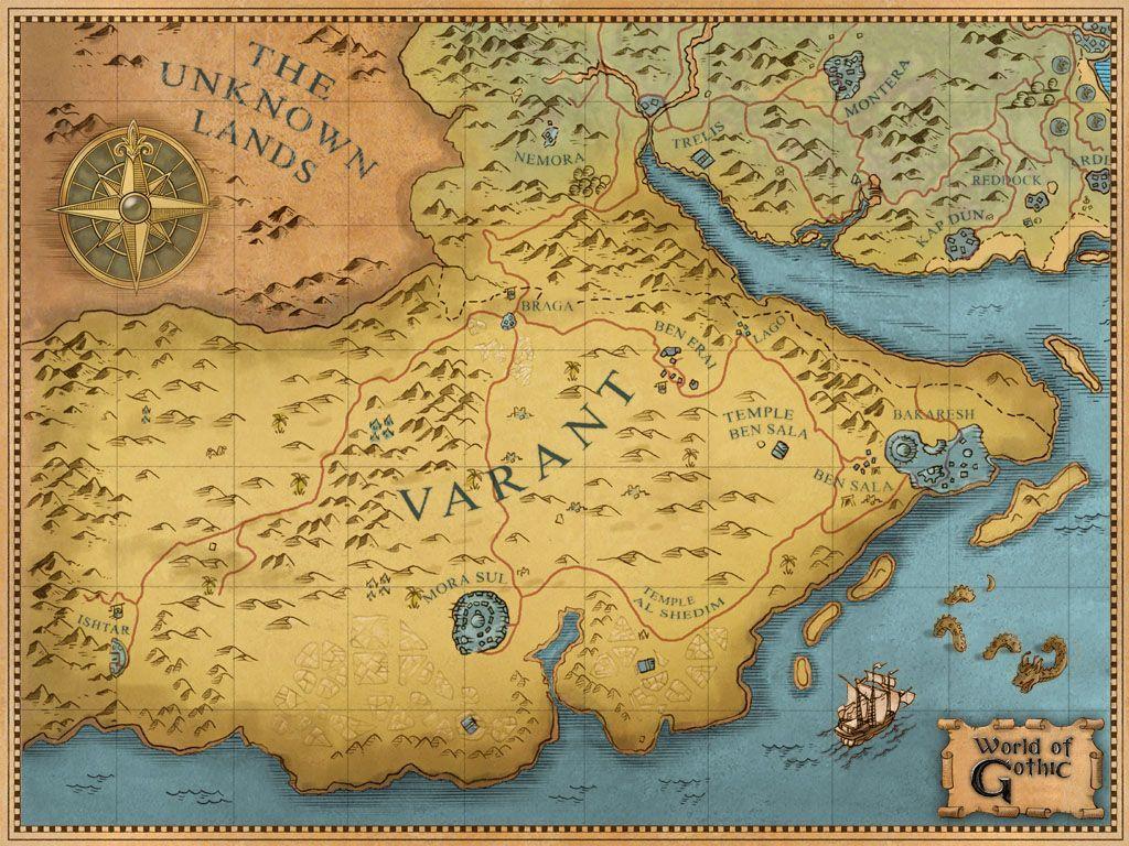 Карта Варанта