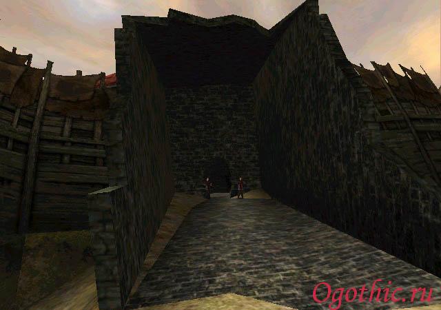 Южные ворота Старого лагеря